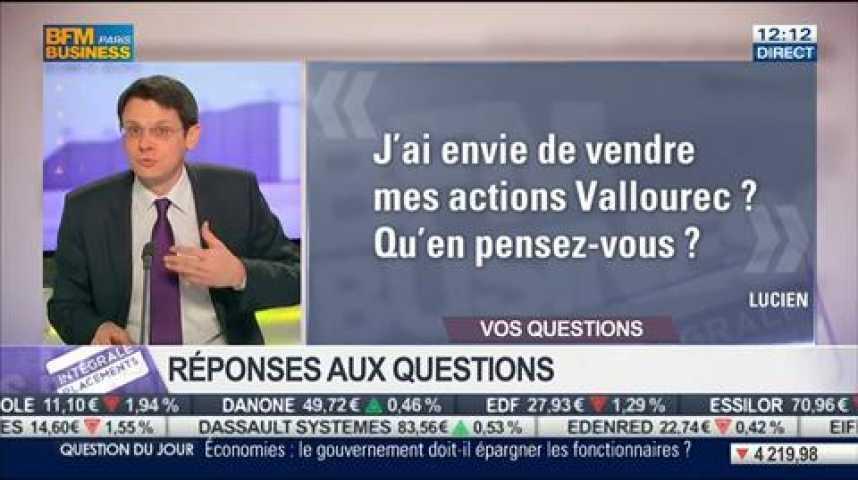Illustration pour la vidéo Bouygues, Vallourec, Chine, Ipsos