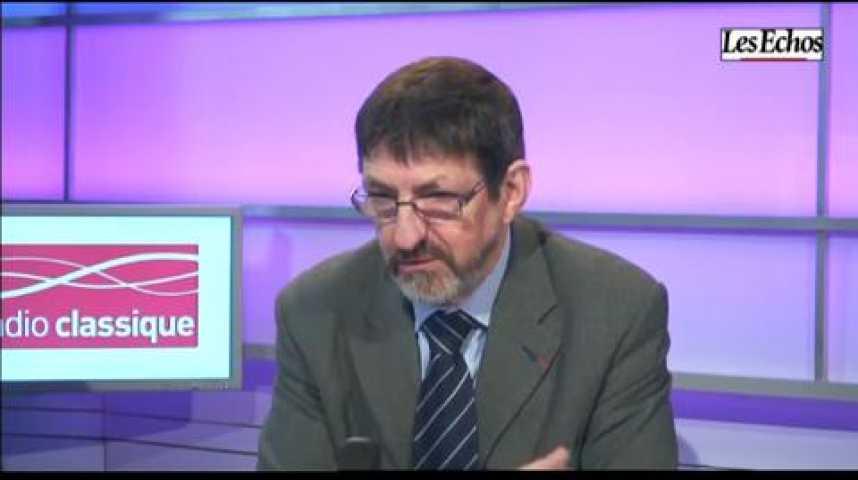 Illustration pour la vidéo L'invité de l'économie : Jean-Louis Deroussen (CNAF)