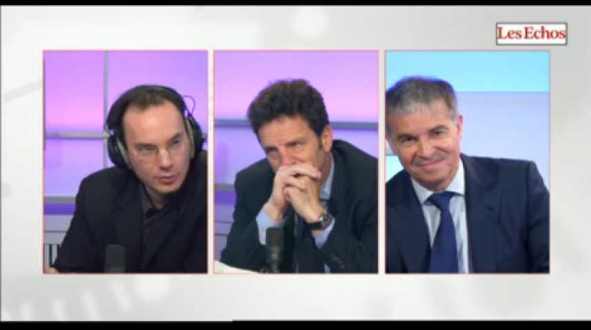 Illustration pour la vidéo Présidence du Medef : le débat Geoffroy Roux de Bézieux - Patrick Bernasconi