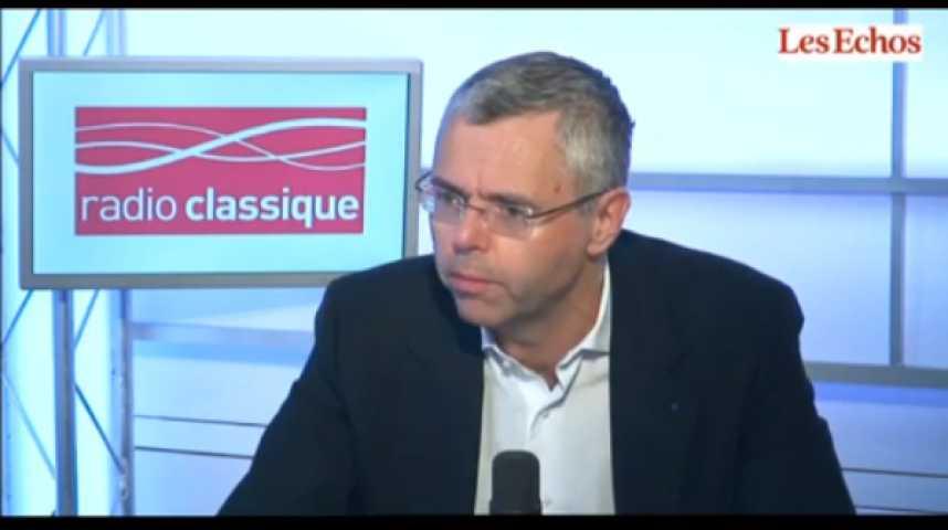 Illustration pour la vidéo Michel Combes, PDG d'Alcatel-Lucent