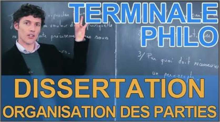 Technique philosophie dissertation
