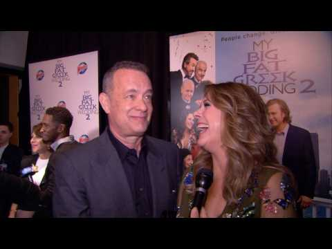 Tom Hanks And Wife Rita Wilson Love 'My Big Fat Greek Wedding 2'