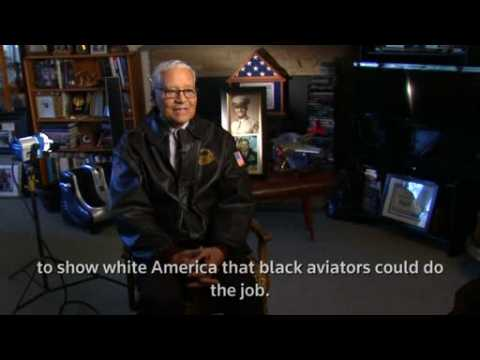 Tuskegee Airman looks back on all-black squad