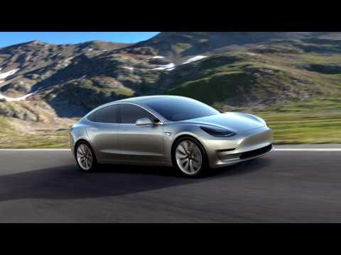 It's here: Tesla unveils $35000 Model 3