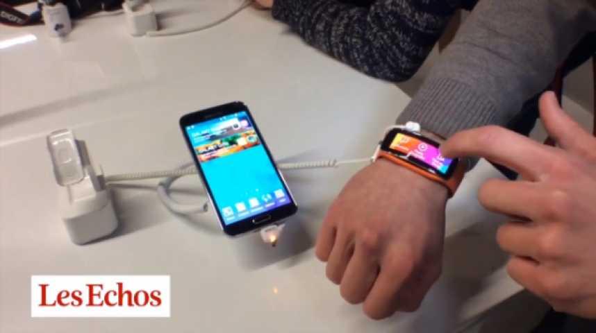 Illustration pour la vidéo Mobile World Congress à Barcelone : le match des bracelets connectés