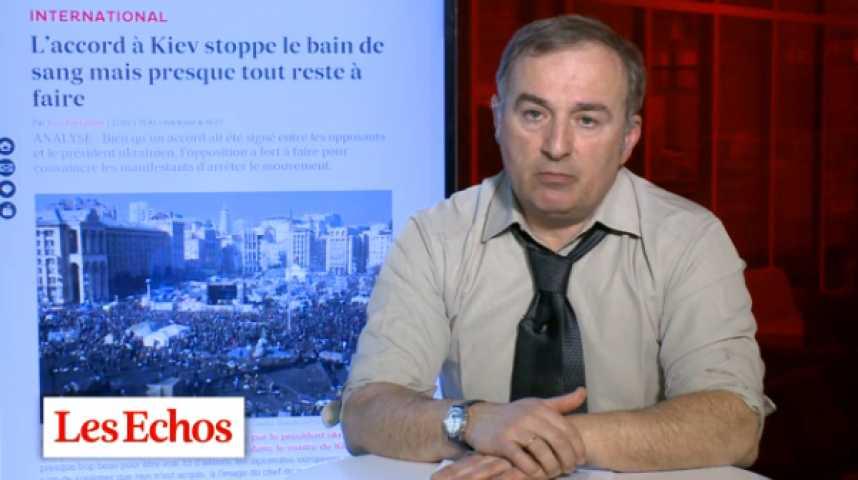 Illustration pour la vidéo Ukraine : un accord qui met fin au bain de sang, mais il faut rester vigilant