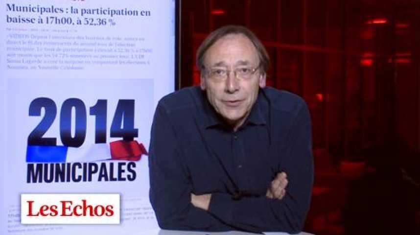 Illustration pour la vidéo Municipales : Paris a mieux voté que la moyenne