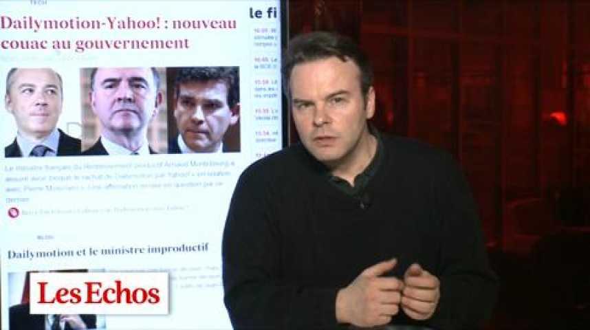 Illustration pour la vidéo Les trois grands perdants de l'affaire Dailymotion-Yahoo! par David Barroux
