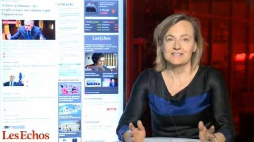 Illustration pour la vidéo Affaire Cahuzac : Hollande met en place un cordon sanitaire
