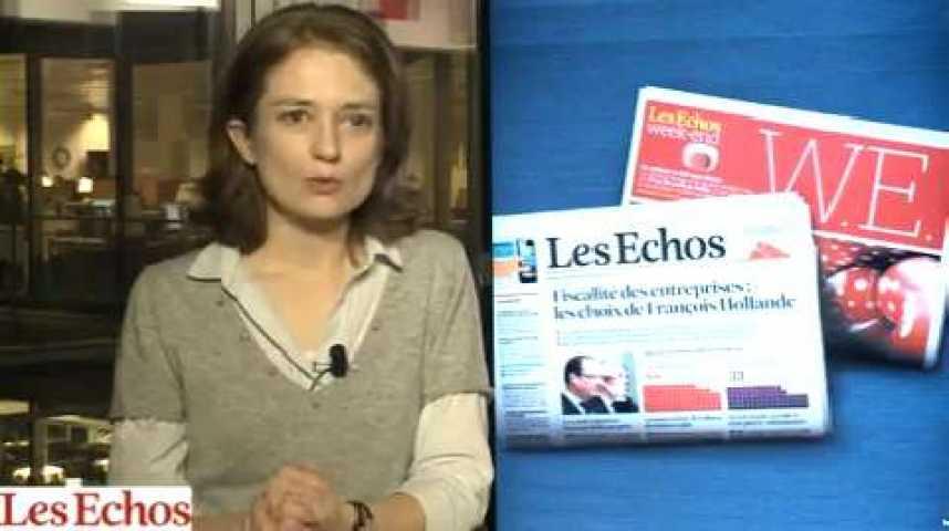 Illustration pour la vidéo Sociétés du CAC 40 : des résultats 2012 en recul mais tirés par l'international