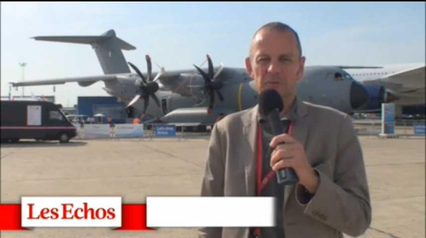 Illustration pour la vidéo L'A400M attendu le 14 juillet