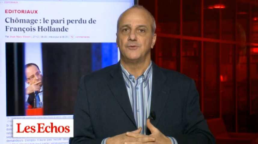 Illustration pour la vidéo Chômage : Quelle mouche a piqué François Hollande ?