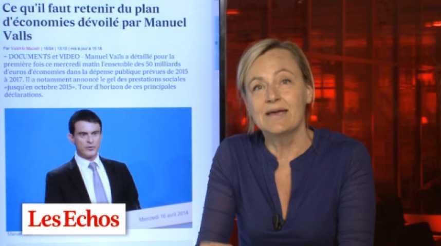 Illustration pour la vidéo Manuel Valls plus courageux que réformateur