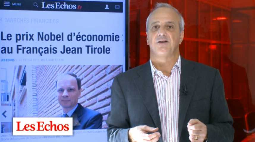 Illustration pour la vidéo Jean Tirole, Nobel d'économie : un homme, une oeuvre... et un appel
