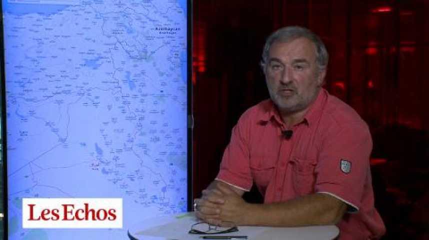 Illustration pour la vidéo Y.Bourdillon (Les Echos) : « Le conflit en Irak pourrait durer plusieurs mois »