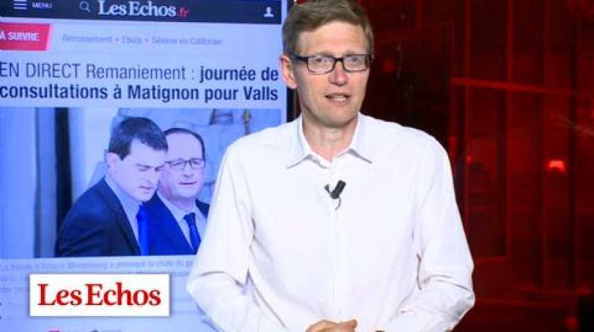 Illustration pour la vidéo Remaniement : l'opération de clarification de François Hollande
