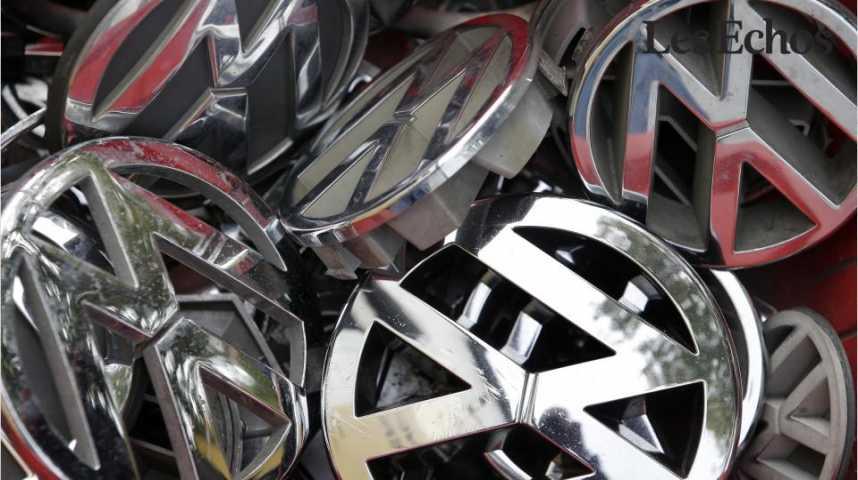 Illustration pour la vidéo L'affaire Volkswagen en chiffres et en lettres