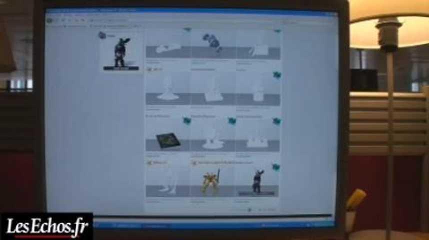 Illustration pour la vidéo Sculpteo, l'impression 3D pour tous