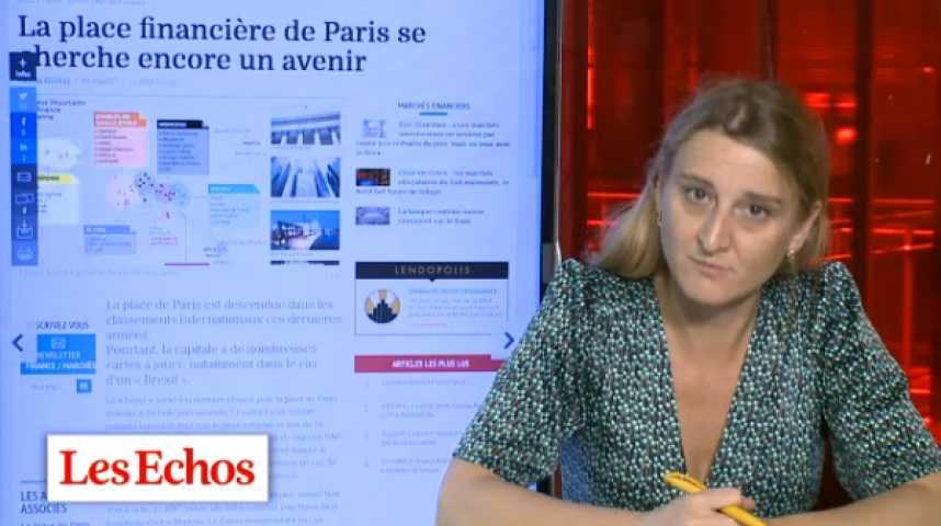 Illustration pour la vidéo Place boursière de Paris : une splendeur passée à retrouver