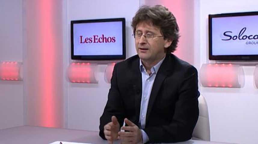 Illustration pour la vidéo Spécial #LaRelève: Isabelle Giordano interviewe Nicolas Barré