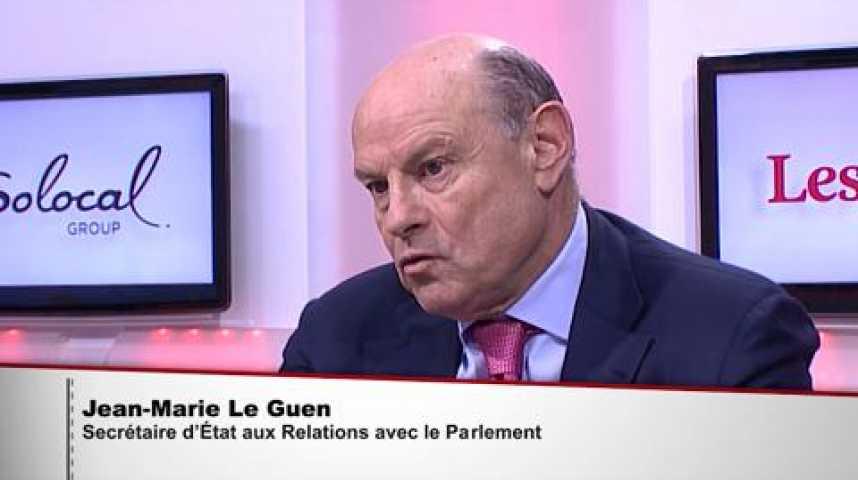 """Illustration pour la vidéo Jean-Marie Le Guen: """"Nous sommes là pour faire barrage au FN, pas pour élire l'UMP"""""""