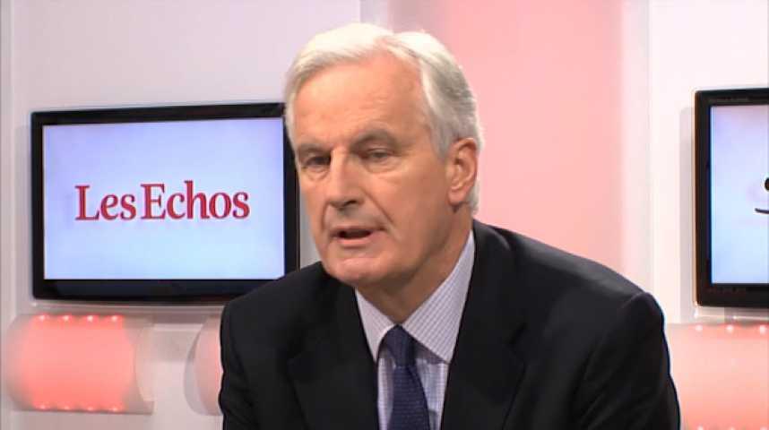 Illustration pour la vidéo M. Barnier :  « Que l'opposition ait le courage de soutenir le plan Valls »