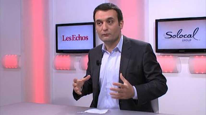 """Illustration pour la vidéo Florian Philippot (FN) : """"Non, Manuel Valls ne nous fait pas peur..."""""""
