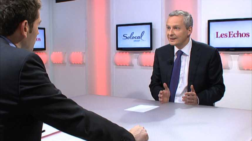 """Illustration pour la vidéo Bruno Le Maire : """"Je souhaite qu'Alain Juppé occupe une place dans le débat national"""""""