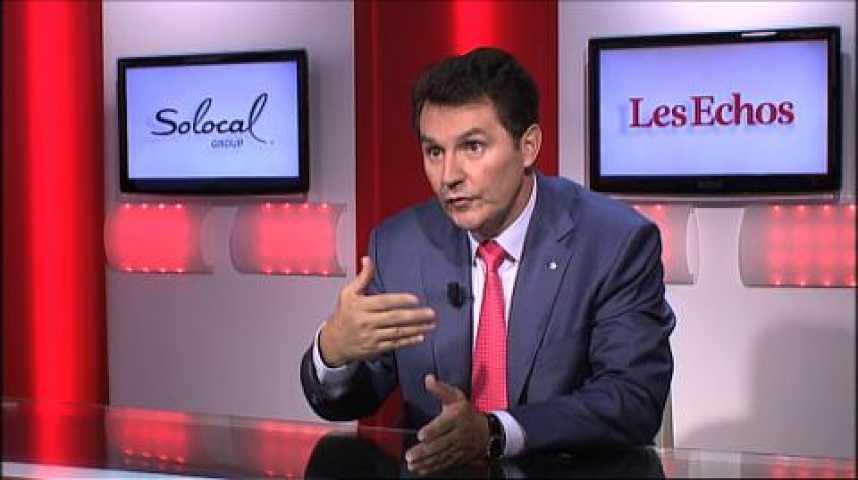 """Illustration pour la vidéo Olivier Roussat (Bouygues Telecom) : """"La 4G c'est l'occasion de se développer à nouveau"""""""