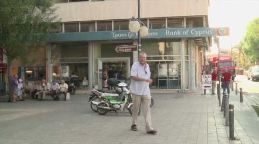 Illustration pour la vidéo Chypre : le plan B divise