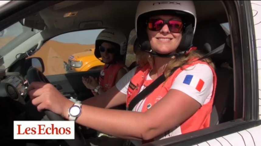 Illustration pour la vidéo Rallye des gazelles : des dunes aux sponsors, une course d'obstacles…