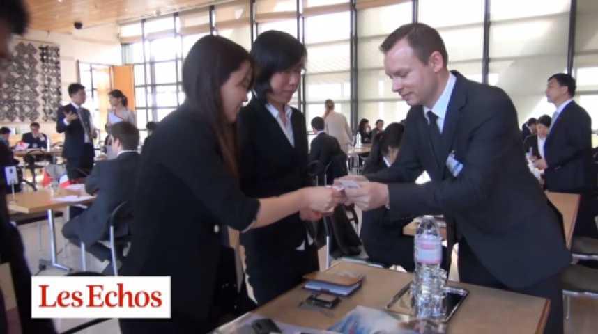 Illustration pour la vidéo Bercy : dans les coulisses du forum franco-chinois…