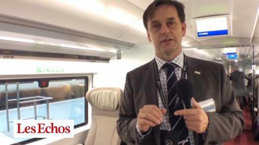 Illustration pour la vidéo Dans les coulisses du nouvel Eurostar