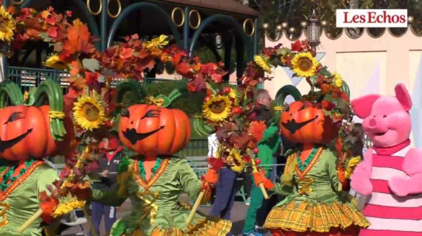 Illustration pour la vidéo Dans les coulisses d'Halloween à Disneyland Paris