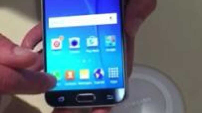 Illustration pour la vidéo Le nouveau Samsung Galaxy S6