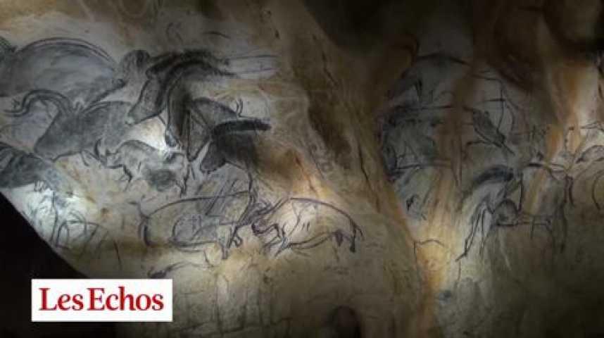 Illustration pour la vidéo La grotte Chauvet, un nouveau souffle pour l'Ardèche