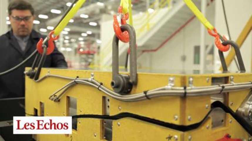 Illustration pour la vidéo La fabrication du moteur LEAP, dans l'usine Safran de Commercy (Meuse)
