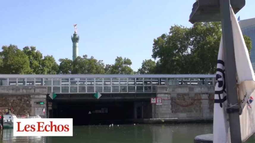 Illustration pour la vidéo Canal Saint-Martin, la face cachée