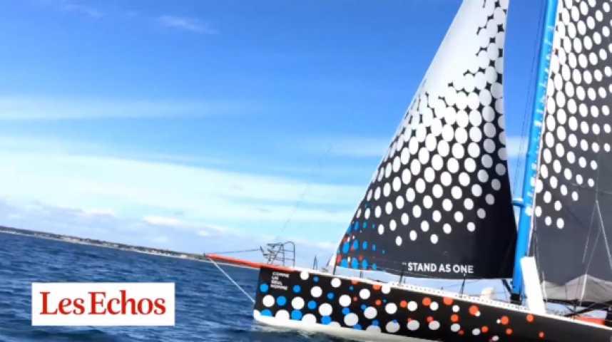 """Illustration pour la vidéo Transat Jacques Vabre : avec Eric Bellion sur une """"Formule 1 des mers"""""""