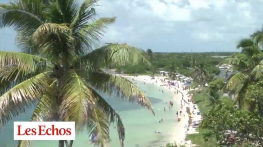 Illustration pour la vidéo Key West : la Floride paradisiaque redoute la montée des eaux