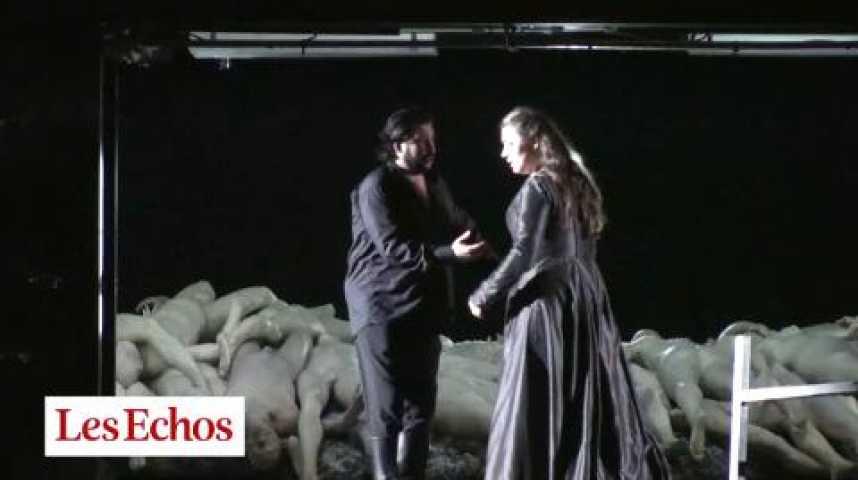Illustration pour la vidéo Aïda : or et mort en majesté à Bastille
