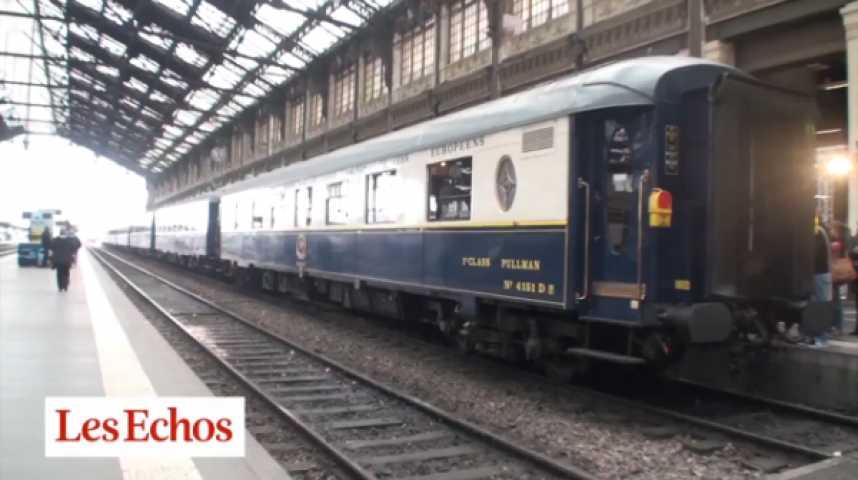 Illustration pour la vidéo A bord de l'Orient-Express