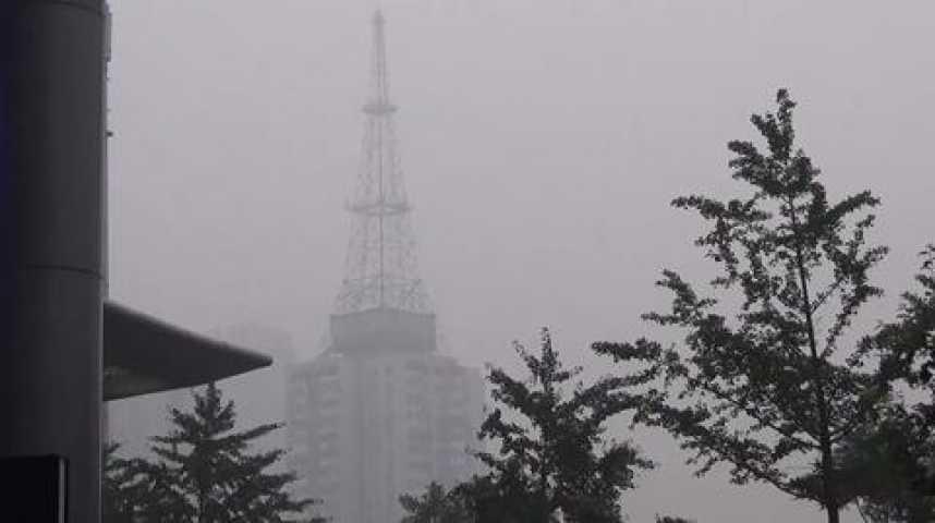 Illustration pour la vidéo Nouveau pic de pollution à Pékin