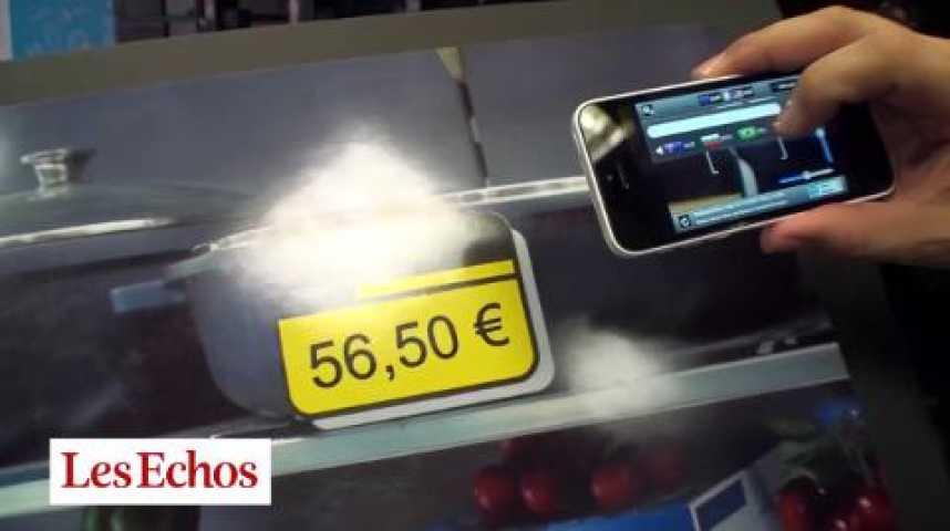 Illustration pour la vidéo Caixa : scanner un prix avec son smartphone