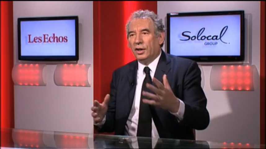 """Illustration pour la vidéo François Bayrou : """"Avec l'affaire Tapie, la loi a été détournée au coeur de l'Etat"""""""
