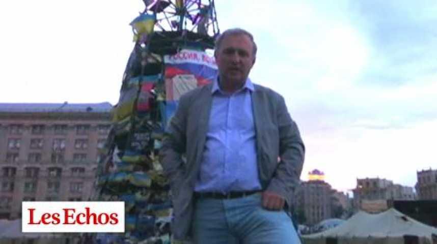 Illustration pour la vidéo Ukraine : les trois défis de Porochenko