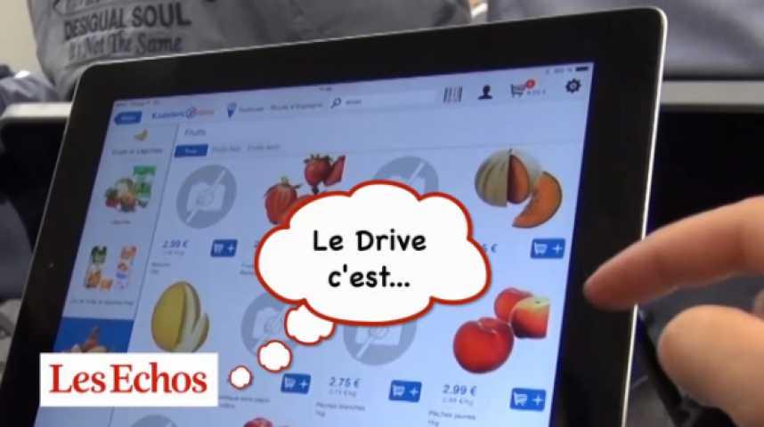 Illustration pour la vidéo Le Drive, comment ça marche ?