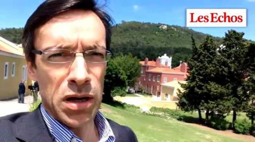 Illustration pour la vidéo BCE à Sintra : c'est l'avenir immédiat qui occupe les esprits