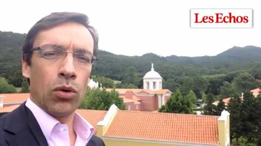"""Illustration pour la vidéo Sintra : """"Les banquiers centraux sont les héros de la crise"""""""