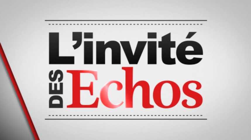Illustration pour la vidéo L'invité des Echos : le générique